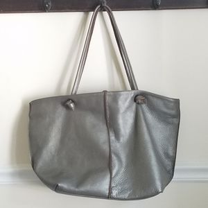 Eileen Fisher | Large Leather Tote